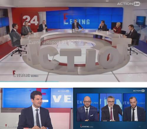 Ο Κωνσταντίνος Γκράβας για τις κοινοβουλευτικές διεργασίες, τη δήλωση Δραγασάκη για τις τράπεζες, και τον εκλογικό χάρτη μέχρι την προεδρική εκλογή (Evening Report-Action24, 31/01/2019)