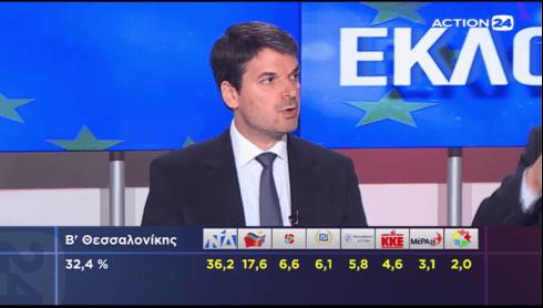 """""""Ανάλυση στις Εκλογές 2019 (26.05.2019) του Action24"""" [Βίντεο]"""